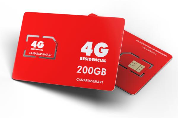 Tarjeta Sim de 200 GB