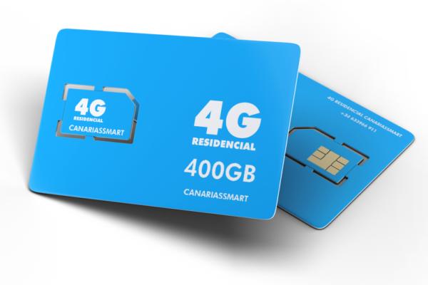 Tarjeta Sim de 400 GB
