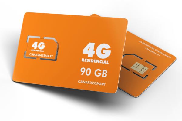 Tarjeta Sim de 90 GB